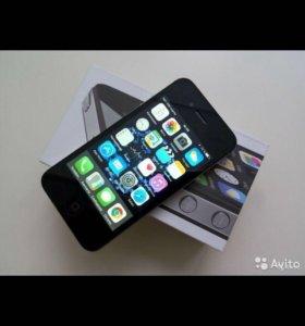iPhone 4s 16 гб черный (ТОРГ)