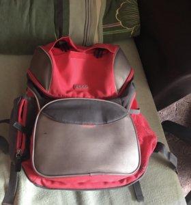Школьный рюкзак и сумка для обуви
