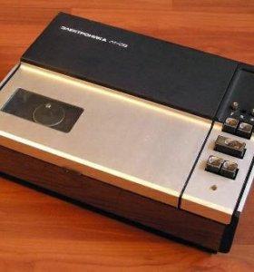 Пленочный видеомагнитофон.Электроника л1-08