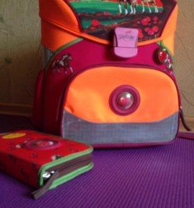 Супер легкий школьный портфель с ортопедическими л