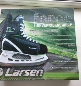 Коньки хоккейные Larsen,размер 39.