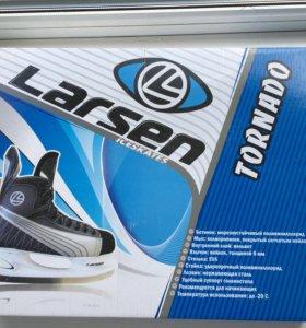 Коньки Ледовые Larsen,размер 44.