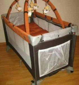 Манеж-кровать ДЕТИ
