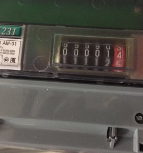 Счётчик электроэнергии., трёхфазный .