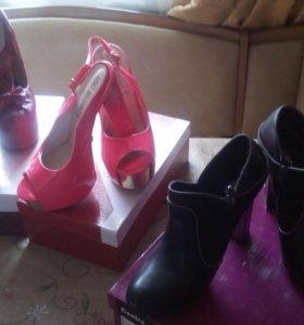 продам любые ботинки и босоножки
