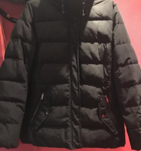 Пальто зимнее mango