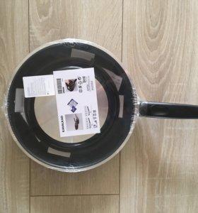 2 Новые сковородки ИКЕА Кавалькад ,набор 2 шт