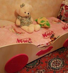 Кровать детская +ортопедический матрац