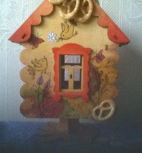Чайный домик-ручная роспись