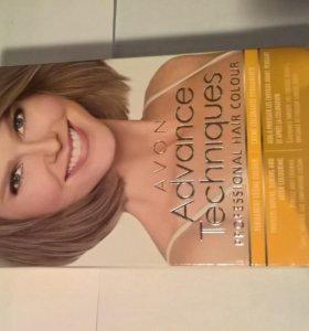 Стойкая крем-краска для волос «Салонный уход».