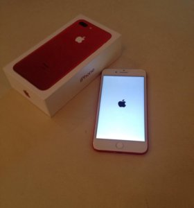 Копия Iphone 7 plus, 128Gb Red