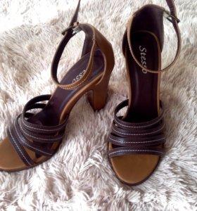Босоножки туфли открытые