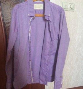 Брендовая рубашка , р.152