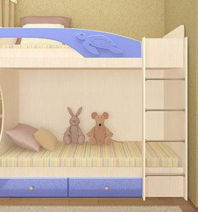 Кровать 2-х ярусная Бемби