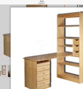 Письменный стол- стелаж