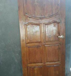 Двери б/у в хорошем состоянии