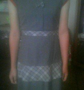 Юбка с и платье