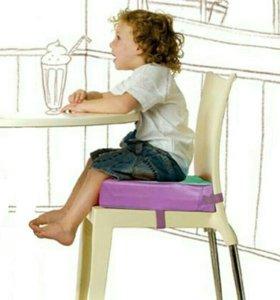 Сиденье на стул с ремнями для ребенка