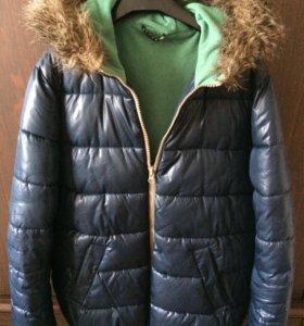 Куртка зимняя для мальчика очень тёплая б/у