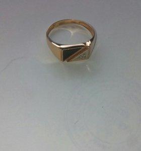 Золотое кольцо мужское