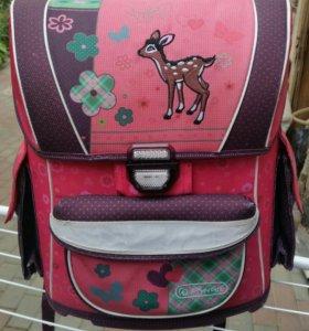 Школьный портфель для девочки Herlitz