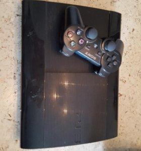 Приставка Sony PlayStation 3 и диски в подарок