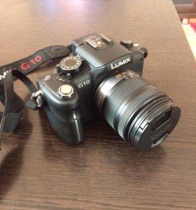 Зеркальный фотоаппарат Panasonic lumix G10