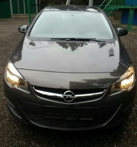 Opel Astra J 1.4 turbo рестайлинг