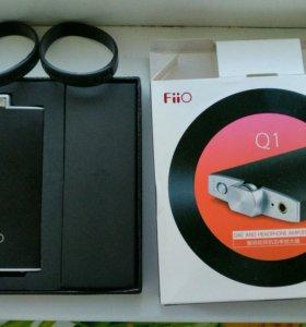 USB-DAC+ усилитель для наушников Fiio Q1