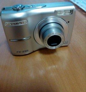 Цифровая камера. Olympus fe-210.