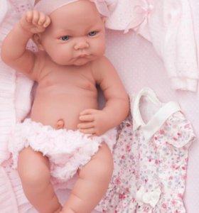 Кукла-младенец Эльза, 42 см Antonio Juan