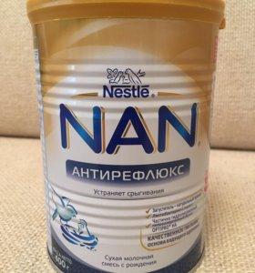 Смесь NAN (антирефлюкс).