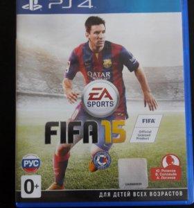 Fifa15 игра на PS4