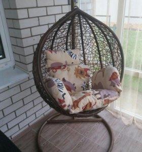 Кресло груша на цепи