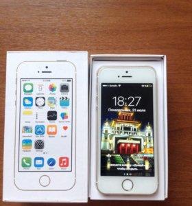 iPhone 5s gold, 32gb