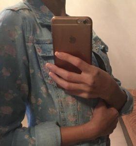 Джинсовая рубашка s