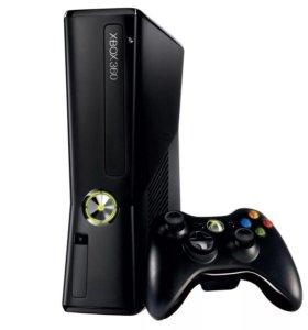 Xbox 360 + 10 игр