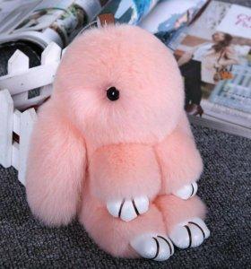 Продам мехового кролика 18-20 см