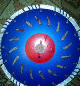 Алмазный диск на болгарку