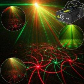 Светомузыка (лазерный проектор) в аренду