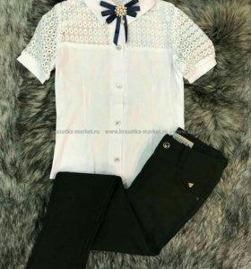 Брюки+блузка размер 40