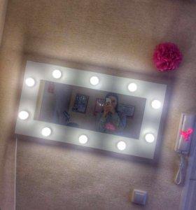 Зеркало гримерное, гримёрный стол