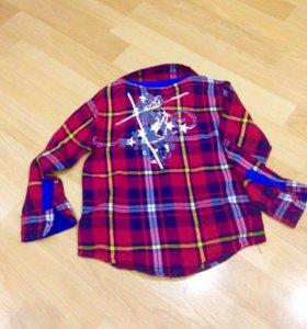 Детская рубашка 92 см