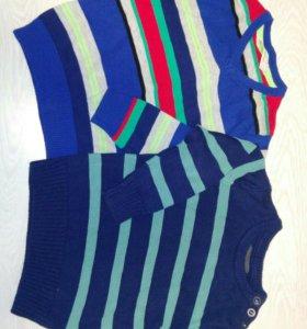 Бу свитеры H&M,2-4 года
