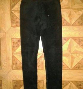 Мягкие зимние штаны для девочки