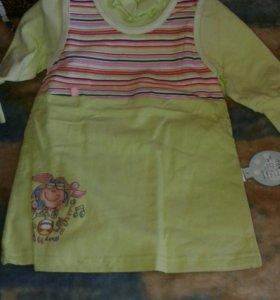 Платья для детей от1до4лет