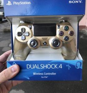Dualshock PS4 gold новый