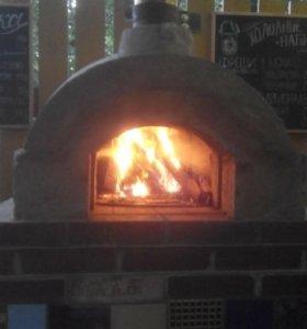 Строительство помпейской пицца печи