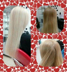 Профессиональное Окрашивание волос,стрижки.