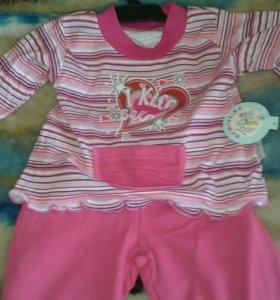 Пижама для детей от 1 до 4 лет
